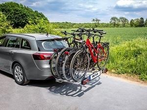 Test 4 Fahrräder beladen